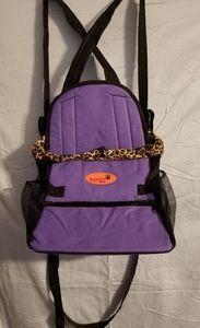 Pet Carrier Shoulder/ waist strap New purple